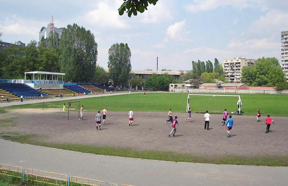 Поле стадиона «Старт». Изображение № 15.