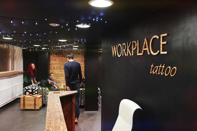 На «Фрунзенской» открылось рабочее пространство для тату-мастеров . Изображение № 1.
