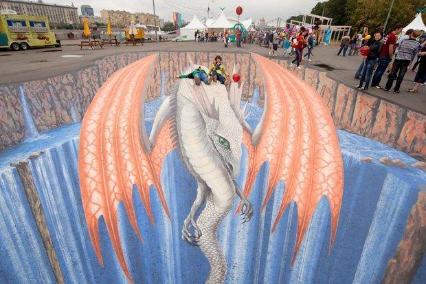 Гости столицы: Художник 3D-граффити Эдгар Мюллер. Изображение № 9.