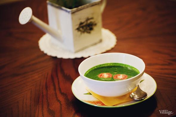 Суп из шпината на сливках — 160 рублей. Изображение № 32.