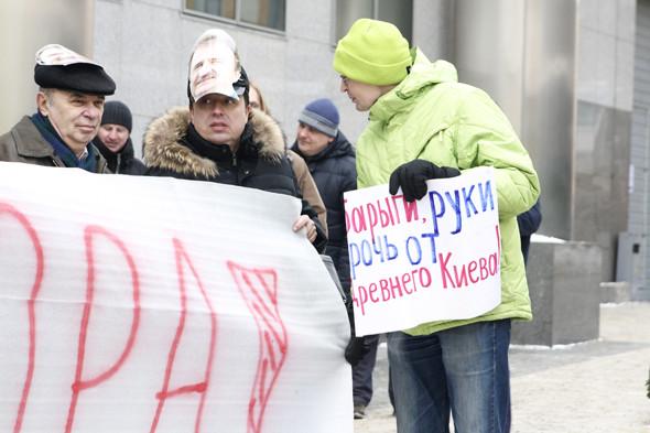 Минус один: В Киеве сносят очередной памятник истории и архитектуры. Изображение № 9.