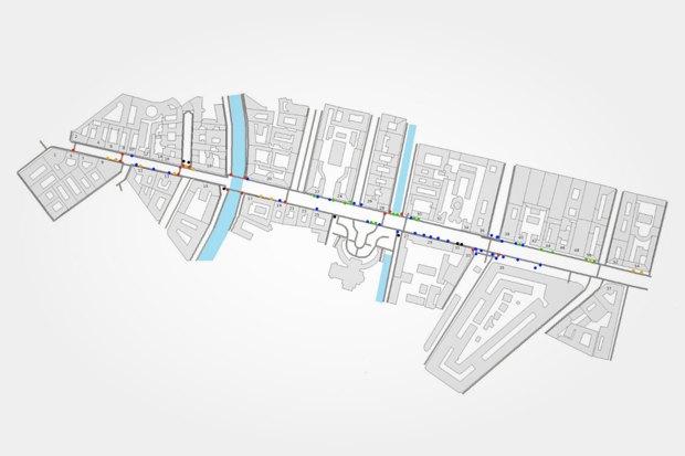 Волонтеры составили карты препятствий и активностей на Невском. Изображение № 6.
