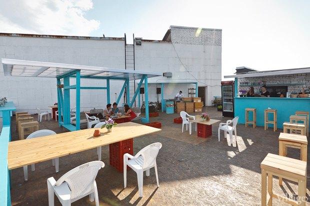 Новое место: Кафе «Крышабар». Изображение № 1.