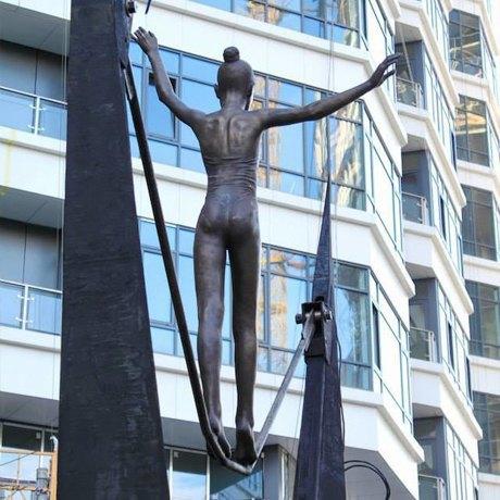 Фото дня: В Киеве появилась новая скульптура. Зображення № 3.
