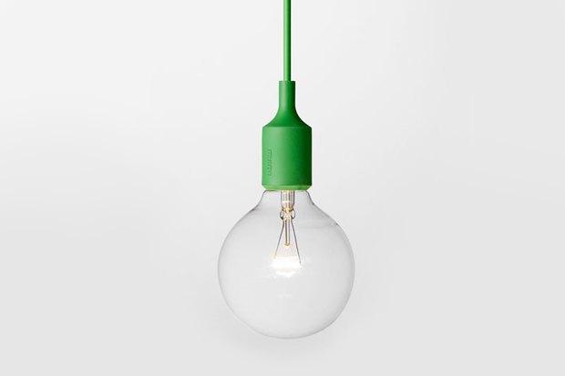 Лампа E27, дизайнер Маттиас Штальбом, Muuto, 4 400 р. . Изображение № 3.