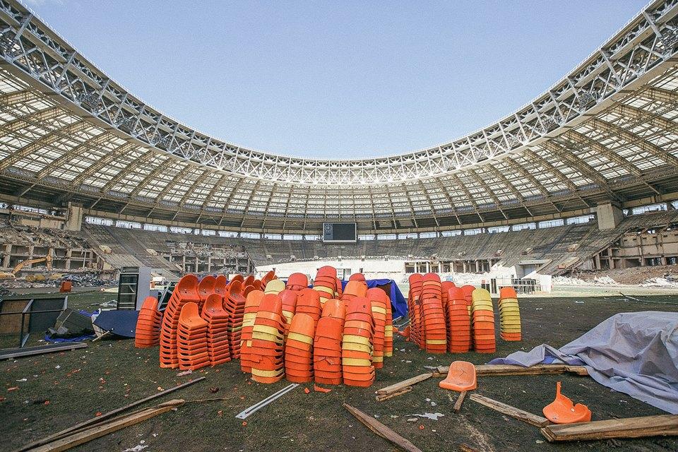 Как сейчас выглядит стадион «Лужники». Изображение № 13.