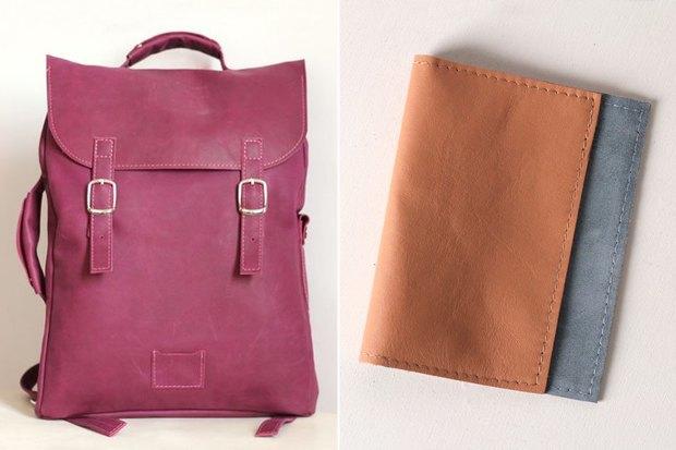 Рюкзак, 5 950 рублей; обложка на паспорт, 500 рублей. Изображение № 5.