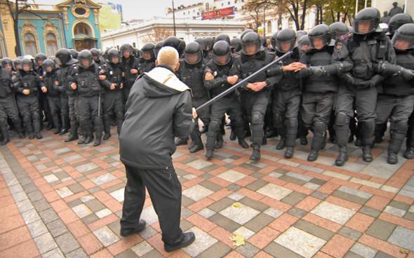 Copwatch: Действия милиции на акции «Вперёд!» возле Верховной рады. Изображение № 18.