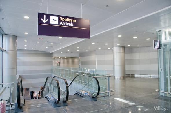 Фоторепортаж: В аэропорту Борисполь открыли самый большой на Украине терминал. Зображення № 7.