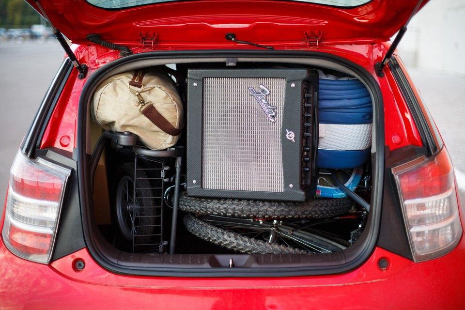 Диван, чемодан, саквояж: Что влезет вгородскую малолитражку. Изображение № 17.