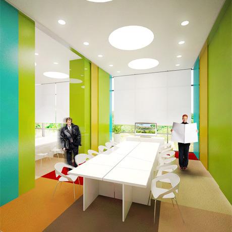 Для комплекса «Парковый» разработали дизайн интерьера. Зображення № 14.