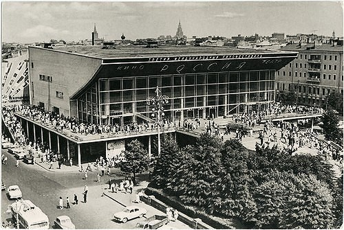 """Кинотеатр """"Пушкинский"""" в 1961 году. Изображение № 13."""