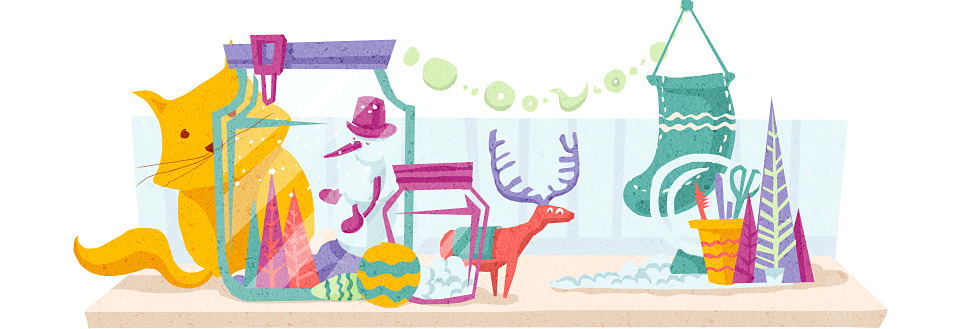 Домпросвет: Как украсить квартиру к Новому году. Изображение №13.