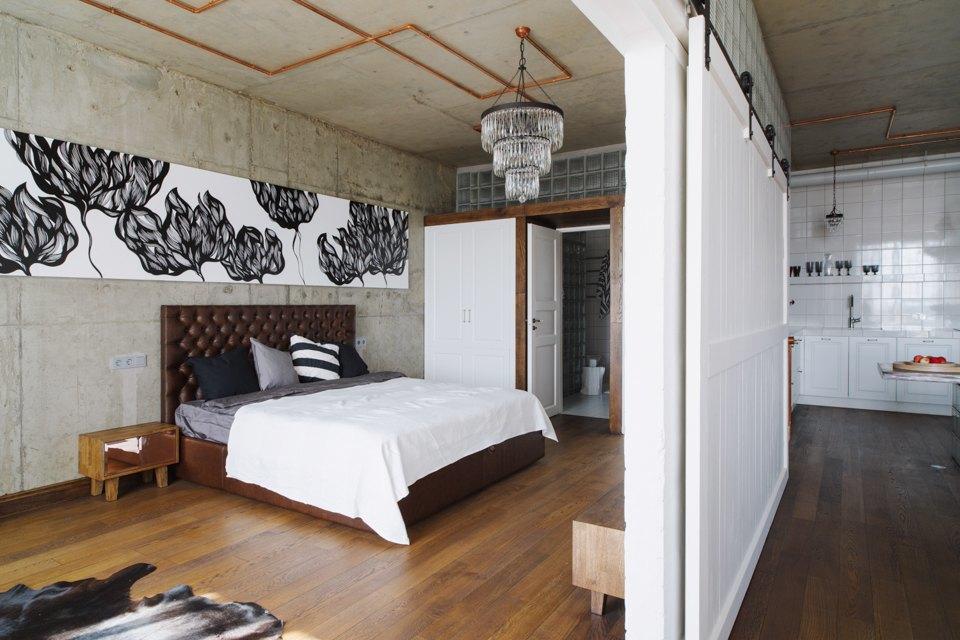 Трёхкомнатная квартира виндустриальном стиле. Изображение № 21.