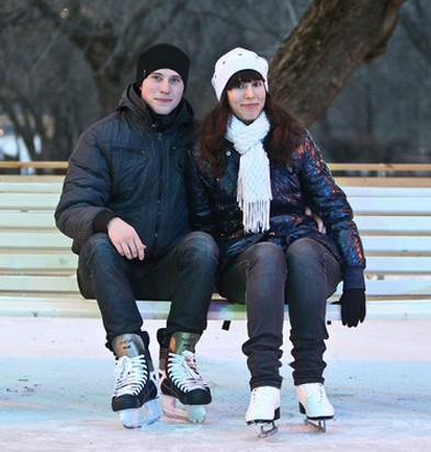 Бегущий на лезвиях: Первые посетители катка в парке Горького. Изображение № 32.