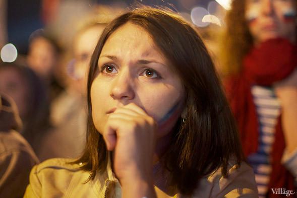 Фоторепортаж: Болельщики в фан-зоне парка Горького. Изображение № 27.
