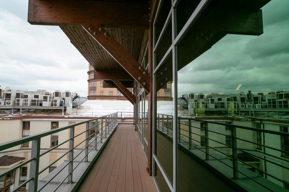 Офис логистической компании накрыше пентхауса. Изображение № 11.