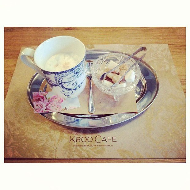 На Суворовском проспекте открылось Kroo Cafe . Изображение № 2.