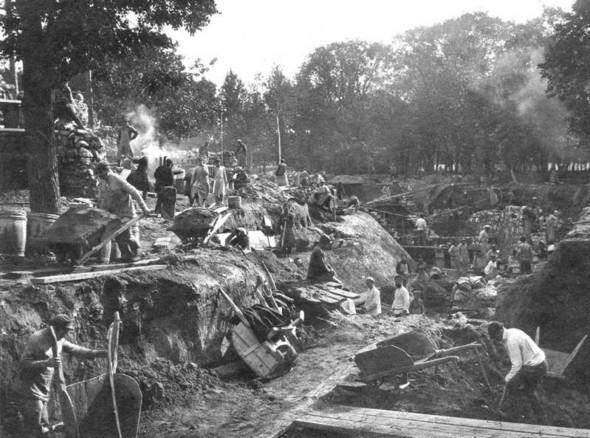 1924 год, строительство. Изображение № 10.