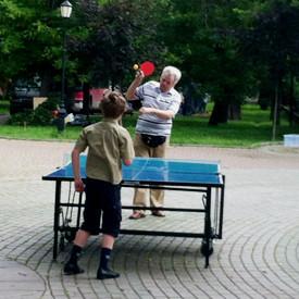 Стол накрыт: Где играть в пинг-понг на открытом воздухе. Изображение № 23.