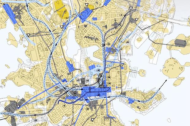 Иностранный опыт: Городские проекты под землёй. Изображение №17.