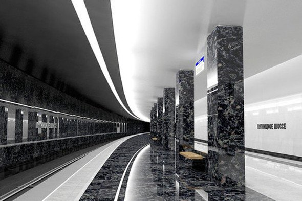 В московском метро открылась 188-я станция. Изображение № 3.