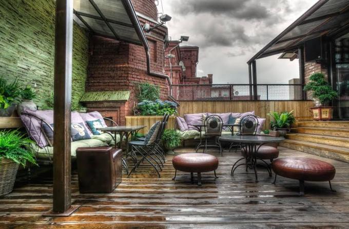 Фото предоставлены кафе Fantomas Rooftop. Изображение № 1.