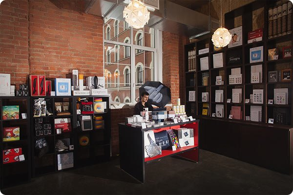 В «Ткачах» открылся магазин икафе студии Лебедева . Изображение № 1.