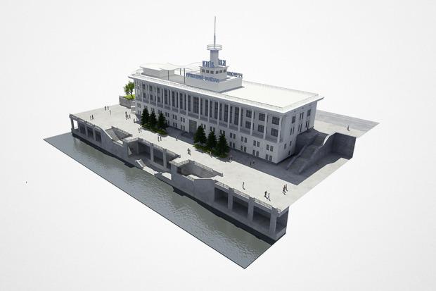 Реконструкция: Как будет выглядеть Речной вокзал. Зображення № 3.