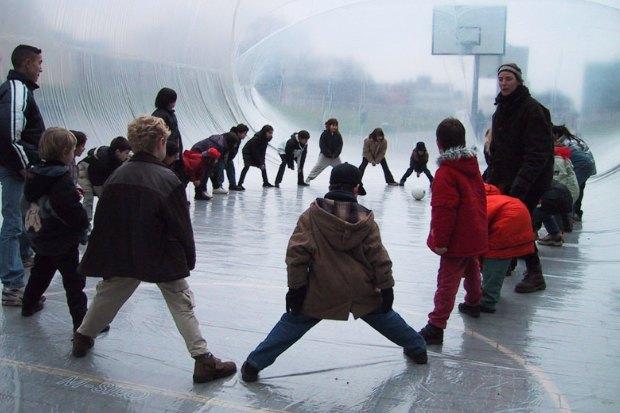 Идеи для города: Пузырь для митингов в плохую погоду. Изображение № 5.