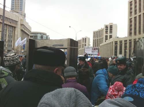 Прямая трансляция: Митинг «За честные выборы» на проспекте академика Сахарова. Изображение № 87.