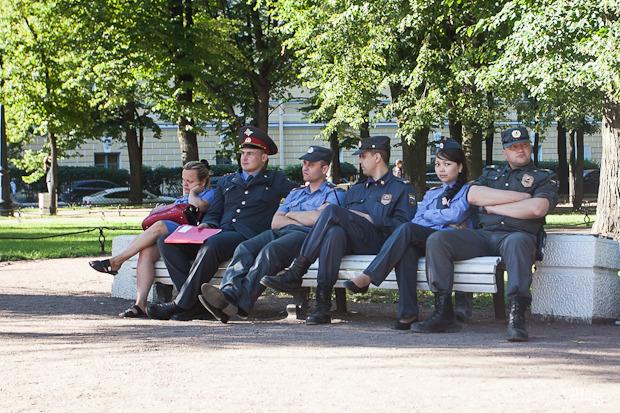 Фоторепортаж: День Воздушно-десантных войск в Петербурге. Изображение № 24.