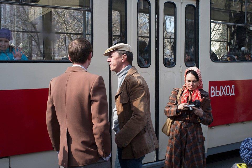 Парад трамваев наЧистыхпрудах. Изображение № 22.