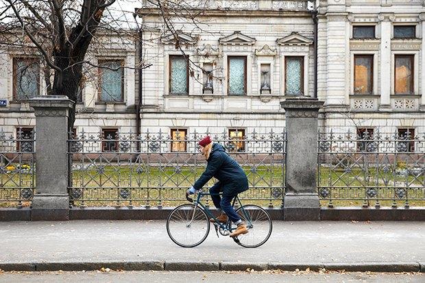 В диких условиях: Велосипед против автомобиля в –10 ˚C. Изображение № 8.