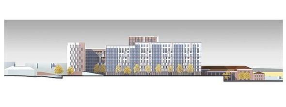 На набережной Яузы построят многофункциональный жилой комплекс. Изображение № 11.