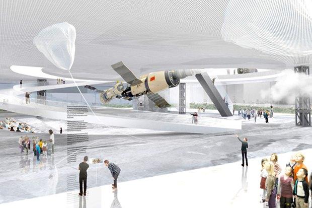 Представлены шесть проектов нового здания Политехнического музея. Изображение № 3.