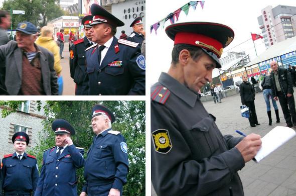 Воины ЮВАО: Казачий патруль на улицах Москвы. Изображение № 10.