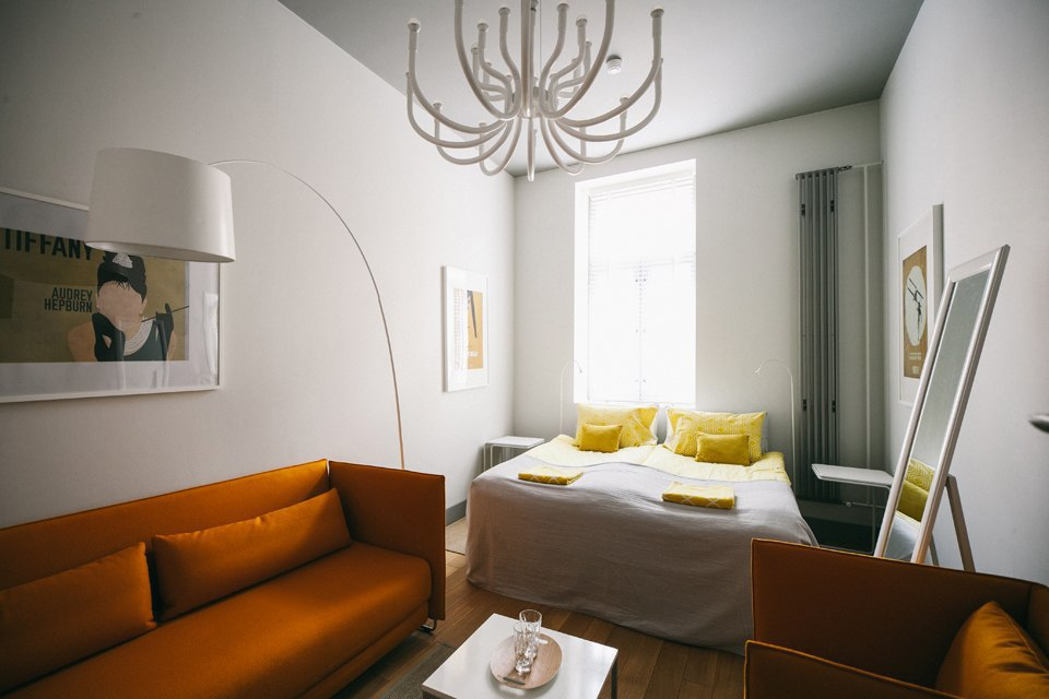 Апартаменты петербургского хостела Chao, Mama. Изображение № 3.