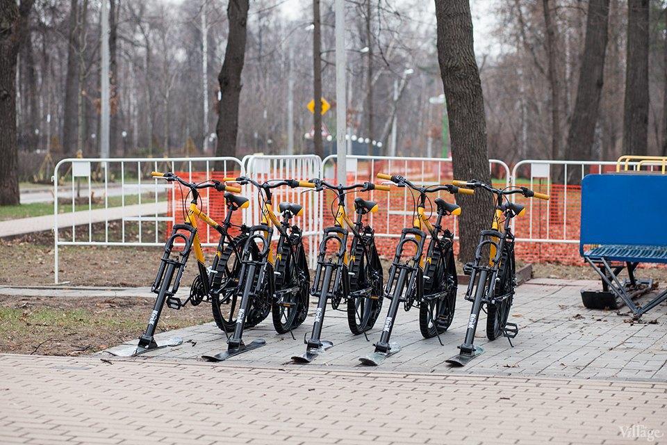 Фоторепортаж: Зимние велосипеды в «Сокольниках». Изображение № 1.