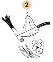 Рецепты шефов: Суп-пюре из тыквы с бальзамическим кремом. Изображение № 6.
