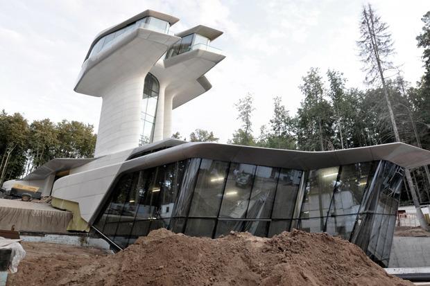 В Барвихе построили дом по проекту Захи Хадид. Изображение № 1.