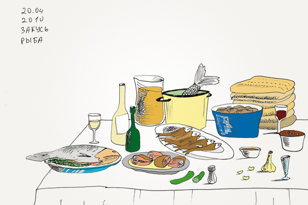 Иллюстрации к книге рецептов грузинской кухни. Изображение № 22.