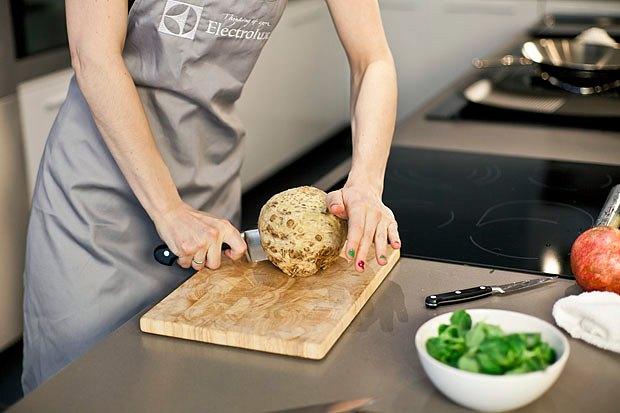Шеф дома: Ростбиф-салат и тыквенная каша Мириам Сехон. Изображение № 13.