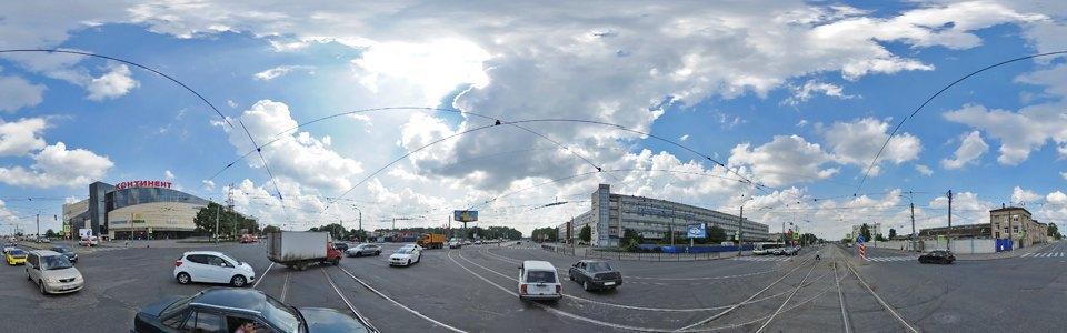 Строительство торгового комплекса со встроенным вестибюлем станции метро «Бухарестская» на месте промзоны на Бухарестской улице  2013 год. Изображение № 10.