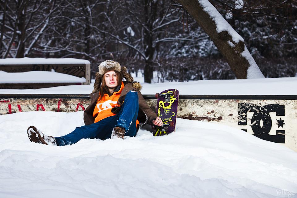 Люди в городе: Где катаются скейтеры зимой. Изображение №2.