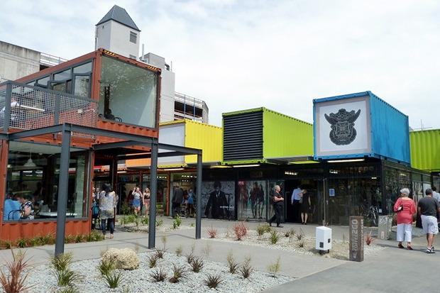 Идеи для города: Торговый центр из грузовых контейнеров. Изображение № 8.
