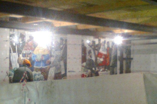 В Сети появились фотографии наземного вестибюля «Спасской». Изображение № 2.