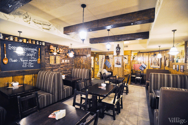 Новое место (Киев): Ресторан «Чёрный поросёнок». Изображение №1.