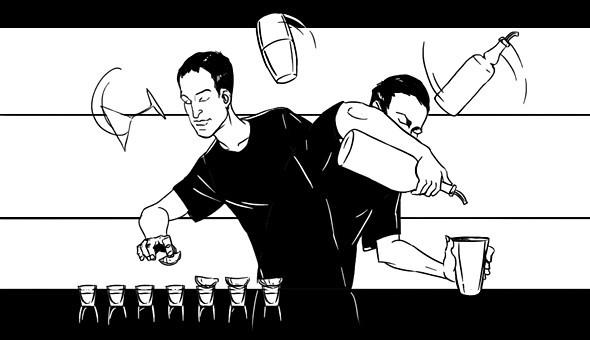 Как всё устроено: Работа заведения глазами бармена. Изображение №5.
