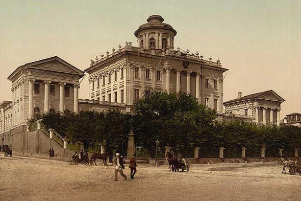 Пашков дом со стороны Моховой улицы.. Изображение № 4.